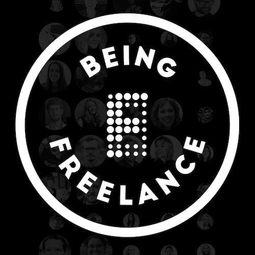 Being Freeland Podcast Logo