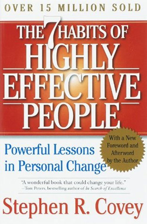 Best Entrepreneur Startup Books - 7 Habits of Highly Effective People Cover