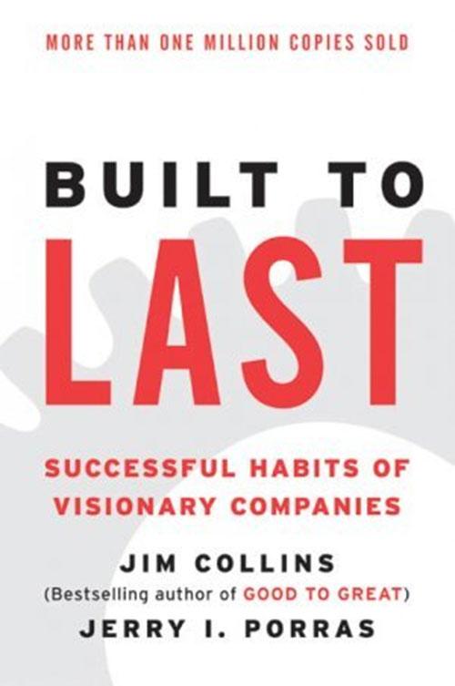 Best Entrepreneur Startup Books - Built to Last Cover