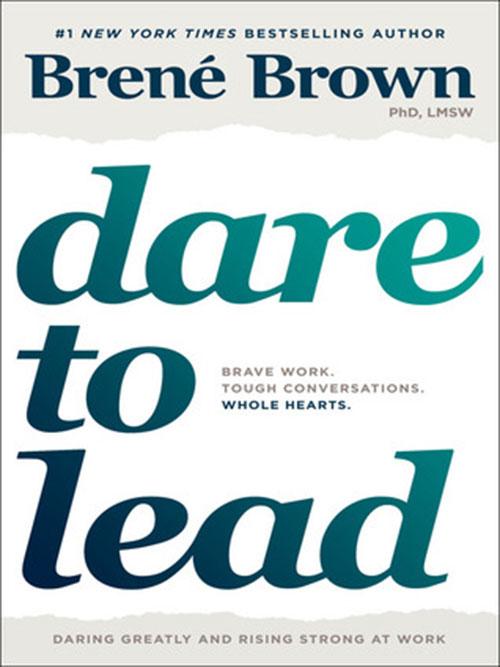 Best Entrepreneur Startup Books - Dare to Lead Cover