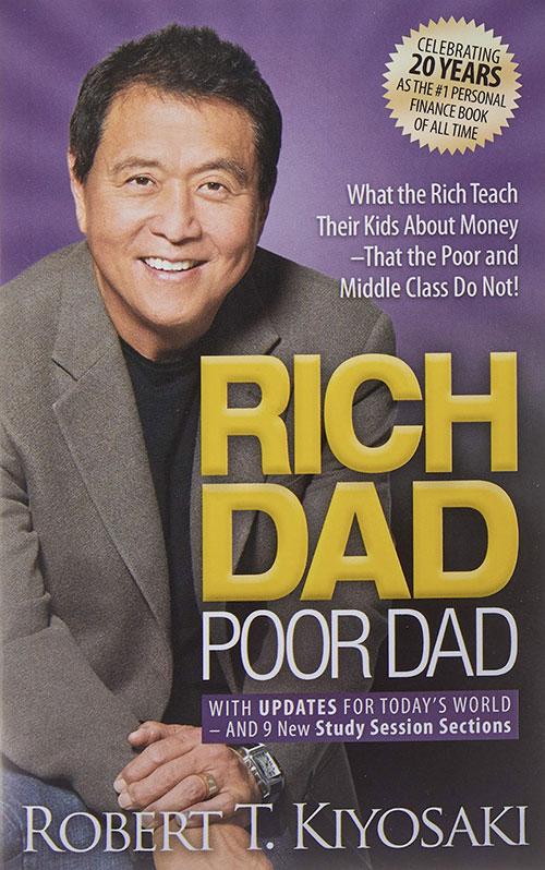 Best Entrepreneur Startup Books - Rich Dad Poor Dad Cover