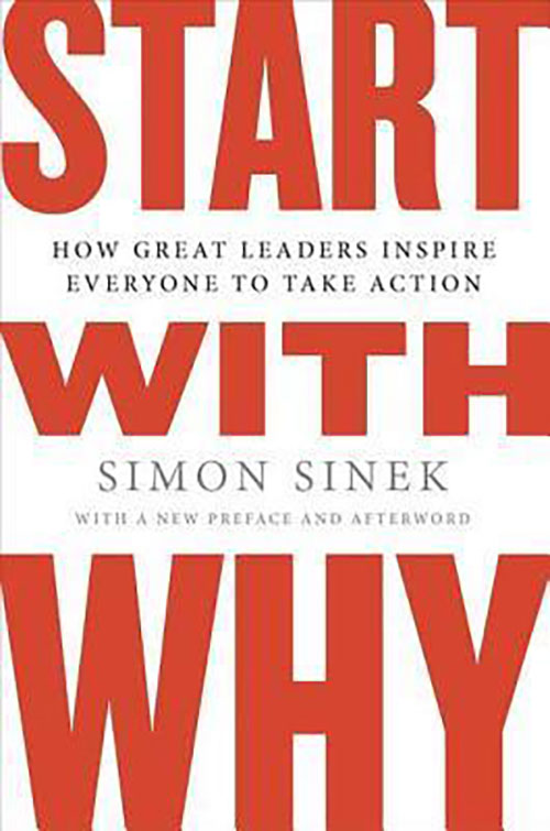Best Entrepreneur Startup Books - Start With Why Cover