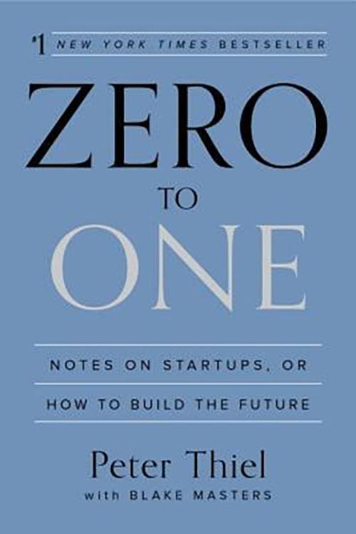 Best Entrepreneur Startup Books - Zero to One Cover
