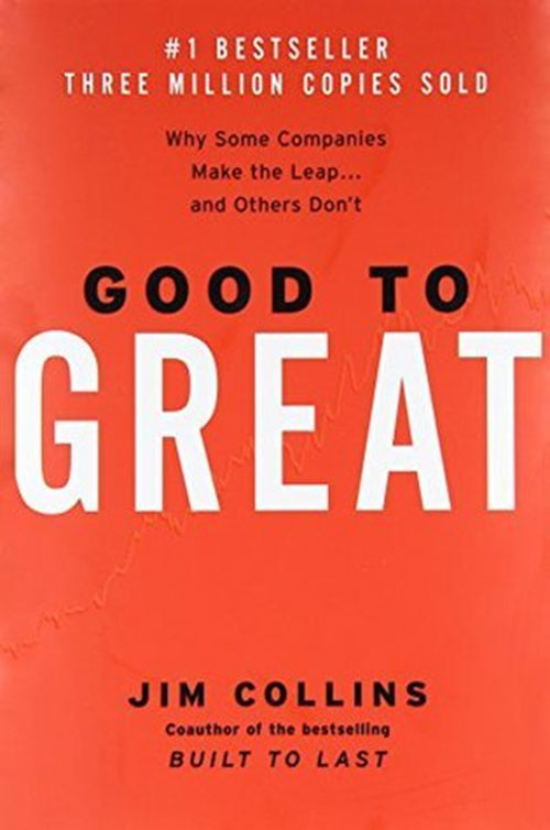 Best Entrepreneur Startup Books - Good to Great Cover