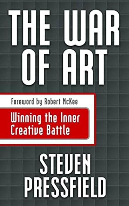 Best Entrepreneur Startup Books - The War of Art Cover