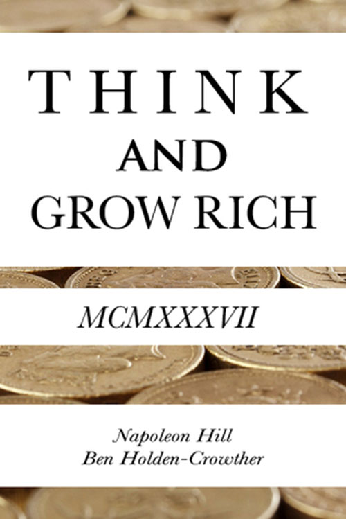 Best Entrepreneur Startup Books - Think and Grow Rich Cover