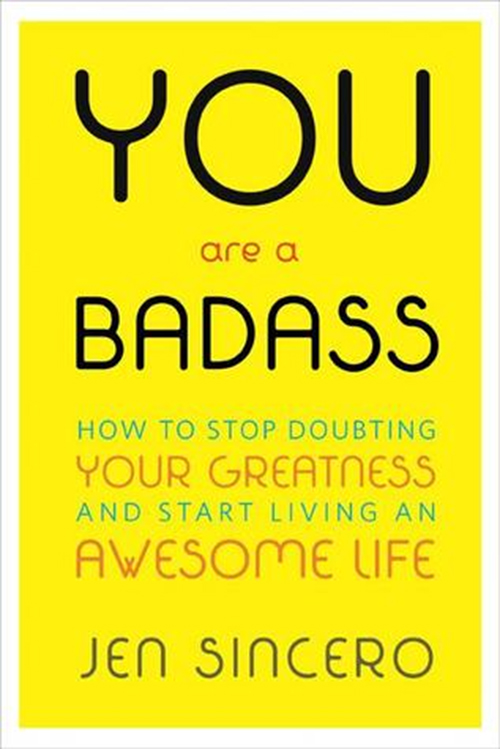 Best Entrepreneur Startup Books - You Are a Badass Cover