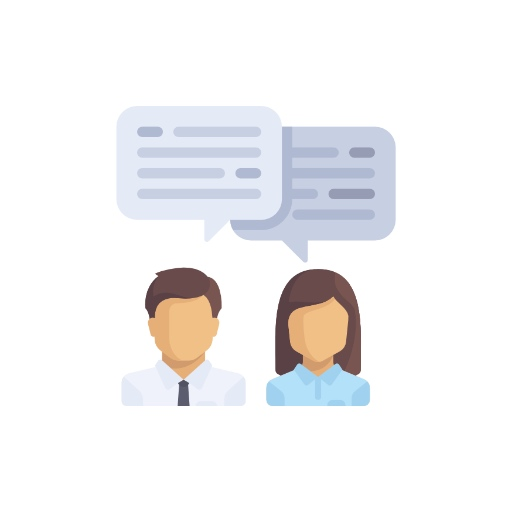 Customer Service Icon - Small Business Social Media Marketing