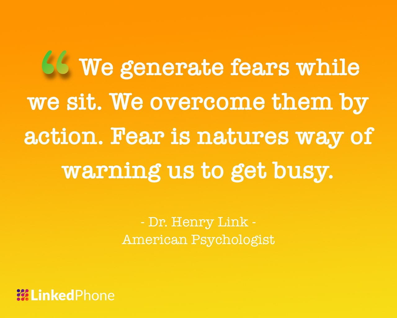 Dr. Henry Link - Motivational Inspirational Quotes and Sayings