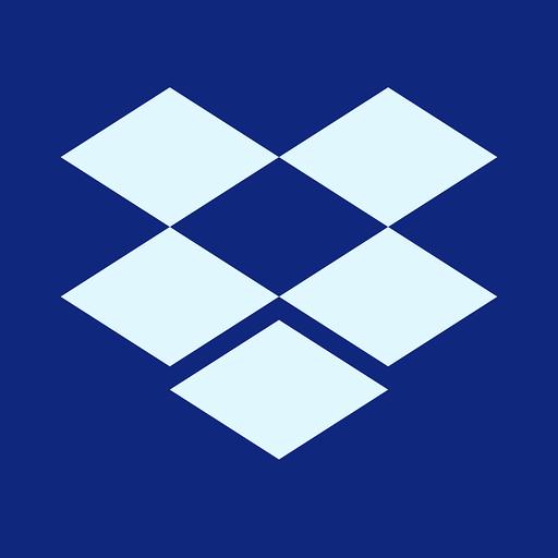 Dropbox - Small Business Cloud Document Management System Mobile App & Software Logo