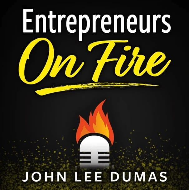 Entrepreneurs on Fire Podcast Logo