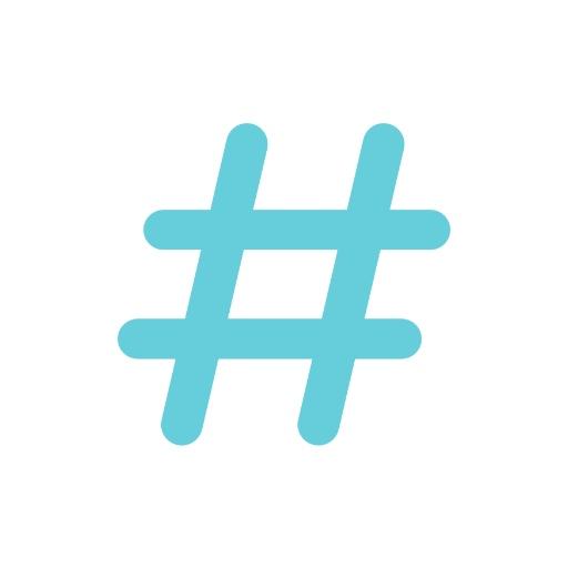 Hashtag Icon - Small Business Social Media Marketing
