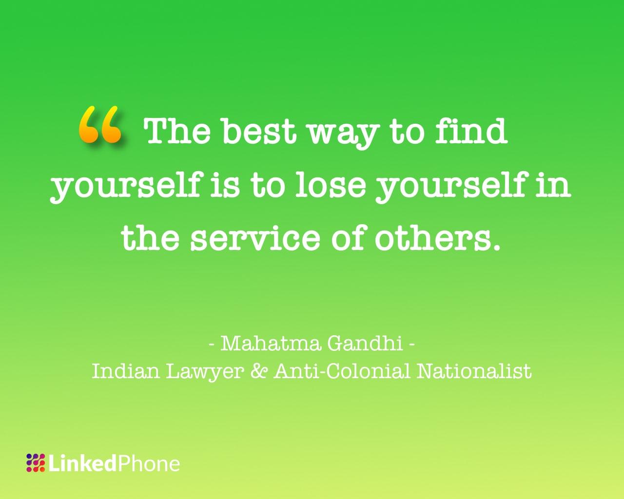 Mahatma Gandhi - Motivational Inspirational Quotes and Sayings
