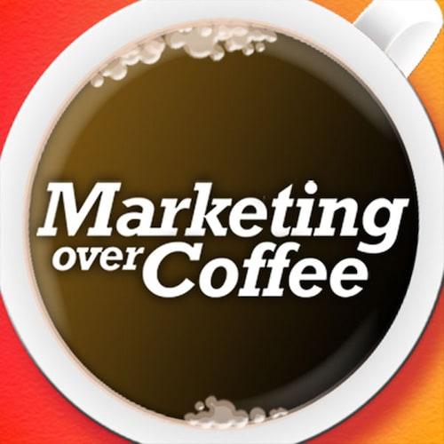 Marketing Over Coffee Podcast Logo