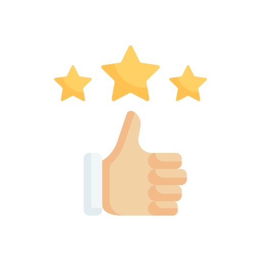 Ratings and Reviews Icon - Should I Be a Freelancer for Upwork or Fiverr