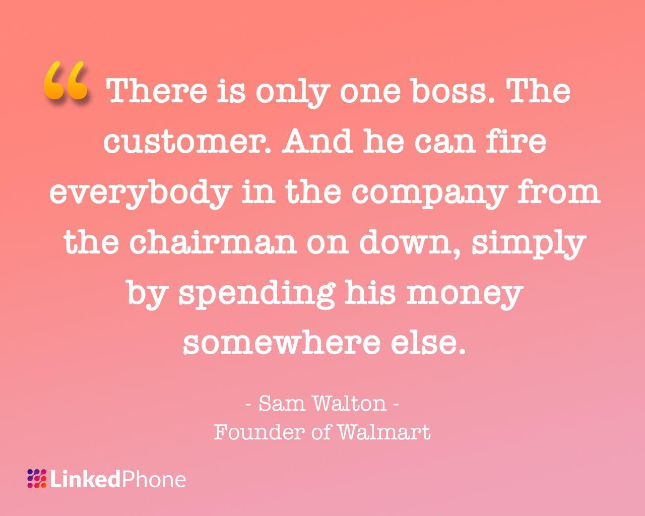 Sam Walton- Motivational Inspirational Quotes and Sayings