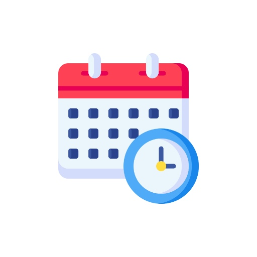Schedule Posts Ahead of Time Icon - Small Business Social Media Marketing