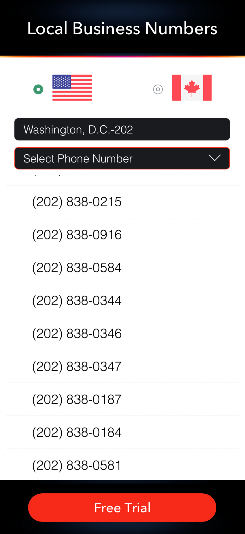 Second Phone Number App For Business Business Phone Number