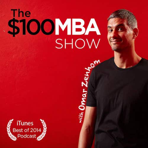 The $100 MBA Show Podcast Logo