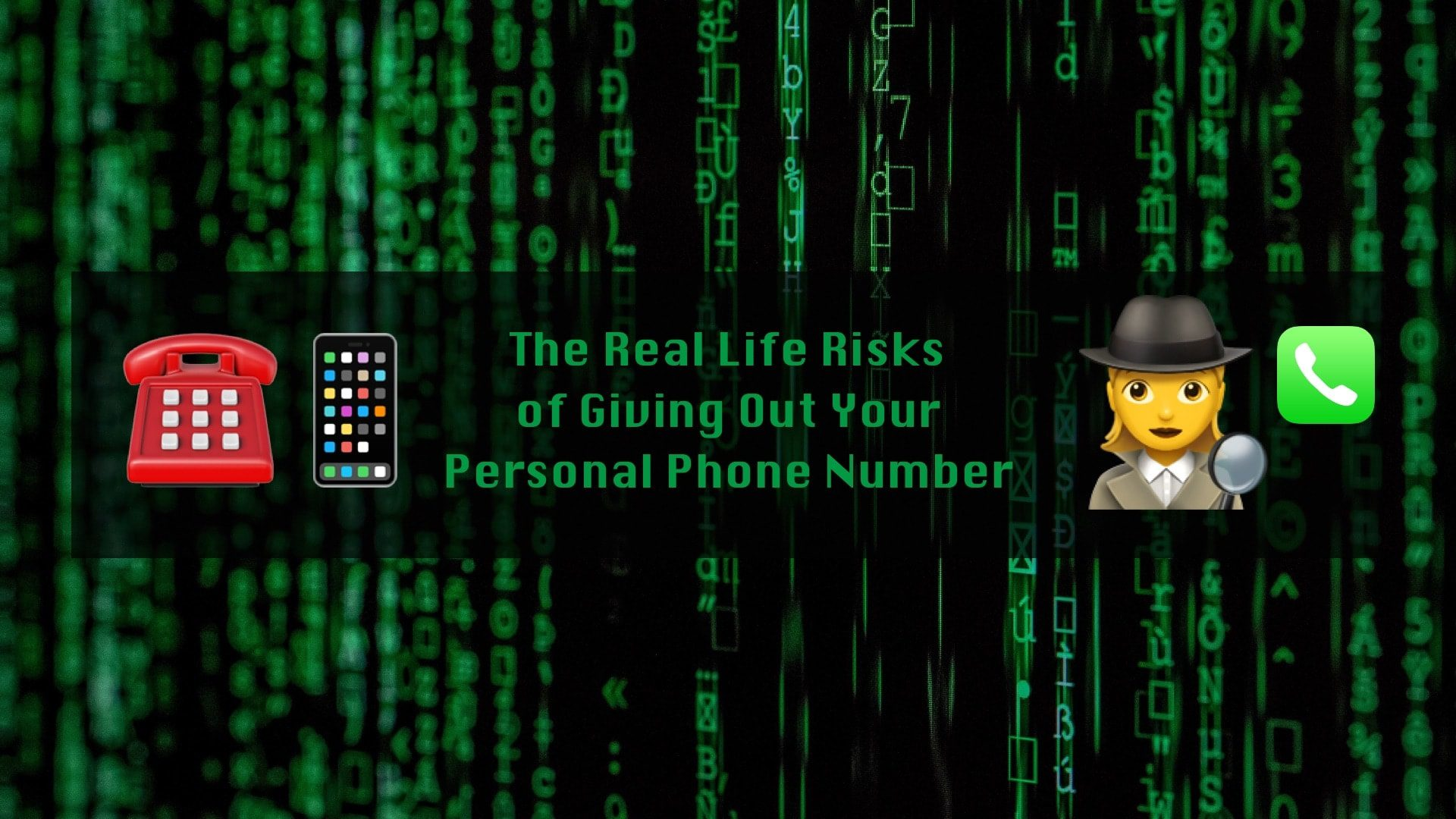 The High Risks of Giving Out Your Personal Phone Number for Business