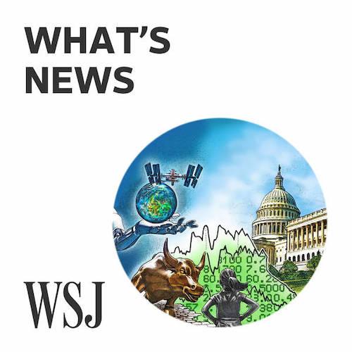 WSJ Whats News Podcast Logo