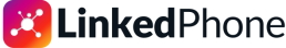 LinkedPhone Logo. Virtual Phone System for Business. Local or Toll-Free Business Phone Number.